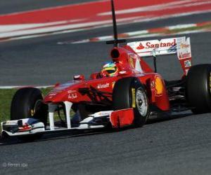 puzzel Ferrari 150º Italia - 2011 -