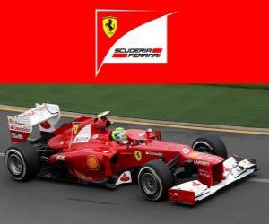 puzzel Ferrari F2012 - 2012 -