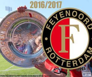 puzzel Feyenoord kampioen 2016-2017