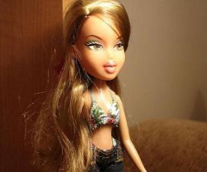 puzzel Fianna is een meisje liefhebber van geuren en mode stijlvolle en glamoureuze, is ze Braziliaanse