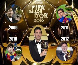 puzzel FIFA Ballon d'Or 2015