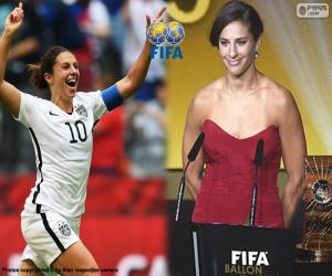 puzzel FIFA beste speler, 2015