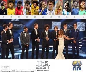 puzzel FIFA/FIFPro World11 2016