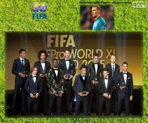puzzel FIFAFIFPro World XI 2015