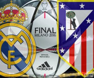 puzzel Finale Champions League 2016