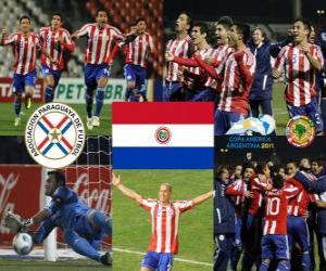 puzzel Finalist Paraguay, Copa America Argentinië 2011