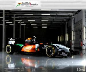 puzzel Force India VJM 07 - 2014 -