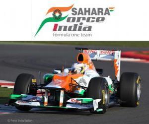 puzzel Force India VJM05 - 2012 -