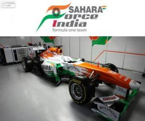 puzzel Force India VJM06 - 2013 -