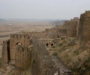 puzzel Fort Rohtas, Pakistan