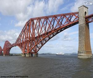 puzzel Forth Bridge, Schotland