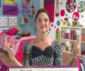 puzzel Francesca in 2 Violetta