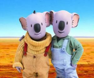 puzzel Frank en Buster, Koala Broertjes