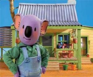 puzzel Frank is een van de Australische koala brothers