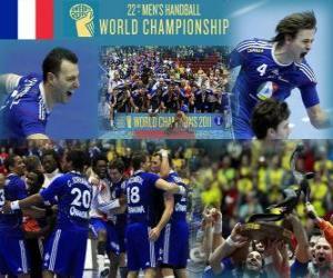 puzzel Frankrijk Gold Medal 2011 World Handbal