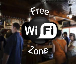 puzzel Free wifi zone