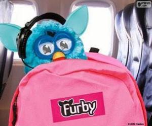 puzzel Furby gaat op vakantie