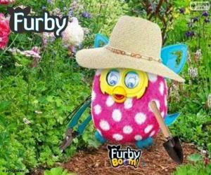 puzzel Furby tuinman
