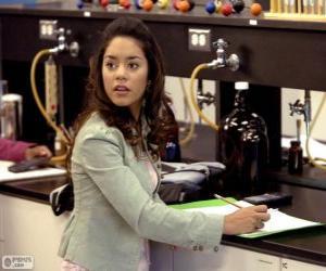 puzzel Gabriella Montez in het laboratorium