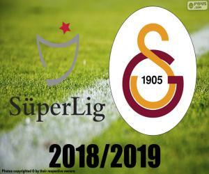 puzzel Galatasaray, kampioen 2018-2019