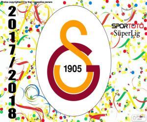 puzzel Galatasaray, Süper Lig 2017-2018