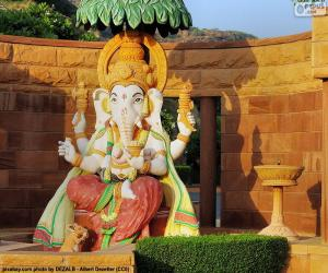 puzzel Ganesha