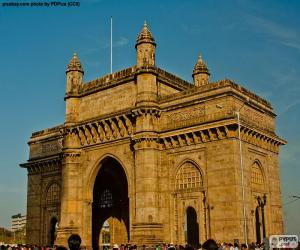 puzzel Gateway of India, Bombay