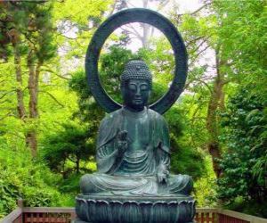 puzzel Gautama Boeddha vergadering