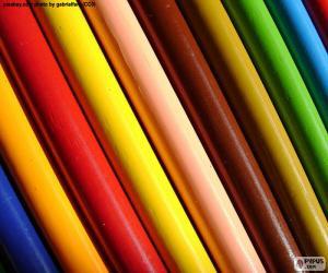 puzzel Geassorteerde kleuren