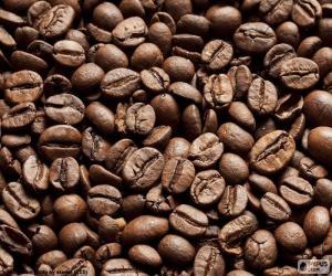 puzzel Gebrande koffiebonen