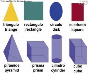 puzzel Geometrische basisfiguren