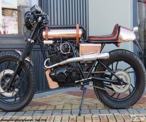 puzzel Gepersonaliseerde motorfiets