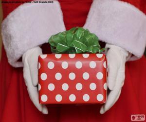 puzzel Geschenk van de Kerstman