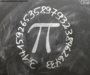 puzzel Getal π (pi)