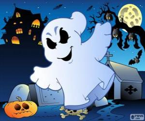 puzzel Ghost tekening