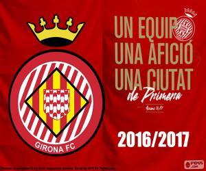 puzzel Girona FC 2016-2017