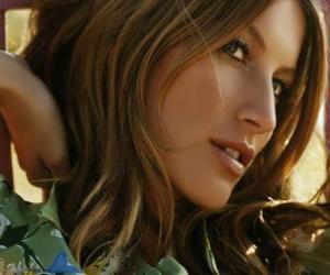 puzzel Gisele Bündchen, Braziliaans actrice en model
