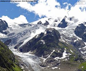 puzzel Gletsjer