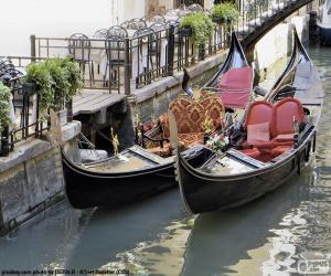 puzzel Gondels Venetië
