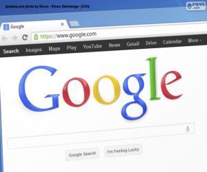 puzzel Google zoekmachine