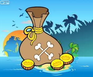 puzzel Gouden munten