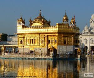 puzzel Gouden Tempel, India