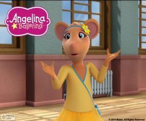 puzzel Gracie, personage uit Angelina Ballerina