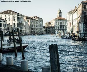 puzzel Grand Canal Venetië, Italië