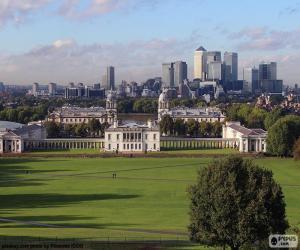 puzzel Greenwich Park, Londen