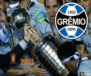 puzzel Gremio, Libertadores 2017 kampioen