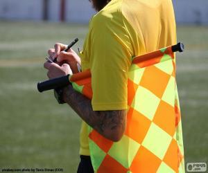 puzzel Grensrechter voetbal