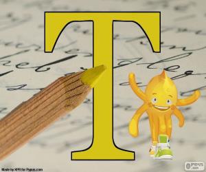 puzzel Griekse letter Tau