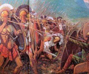 puzzel Griekse soldaten