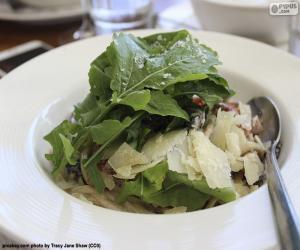 puzzel Groene bladsalades